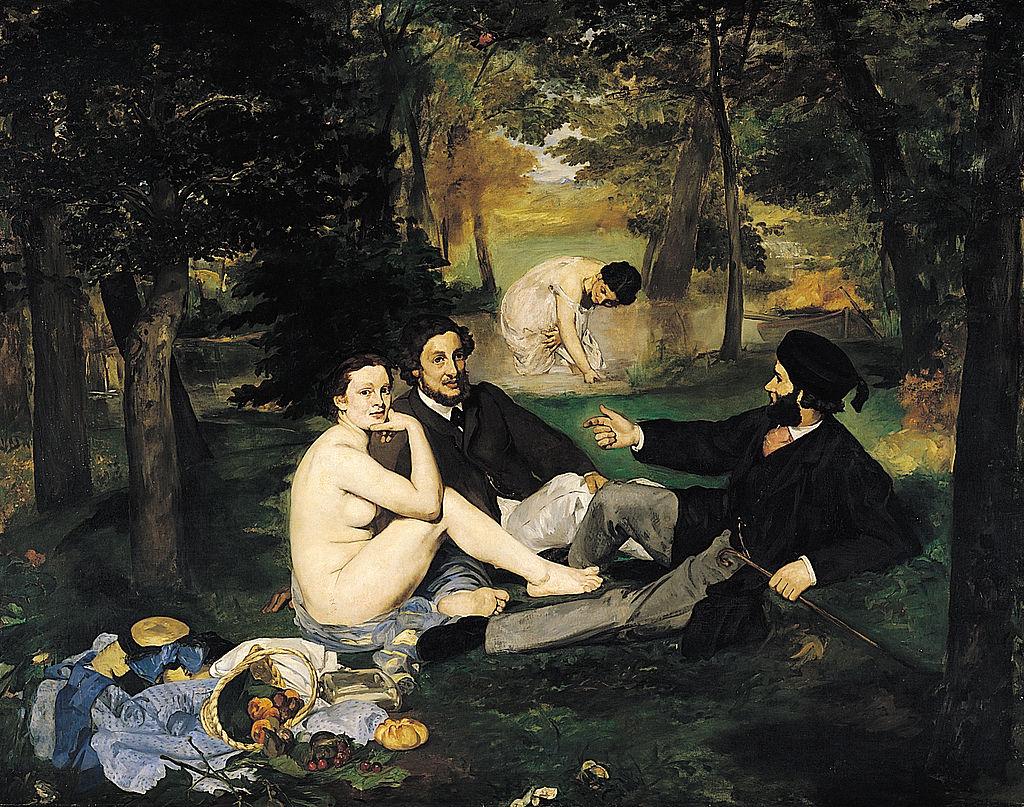 Colazione sull'erba (1863) di Édouard Manet